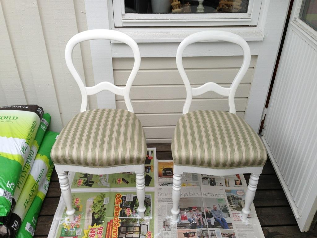 Göra om gamla stolar WhiteLady